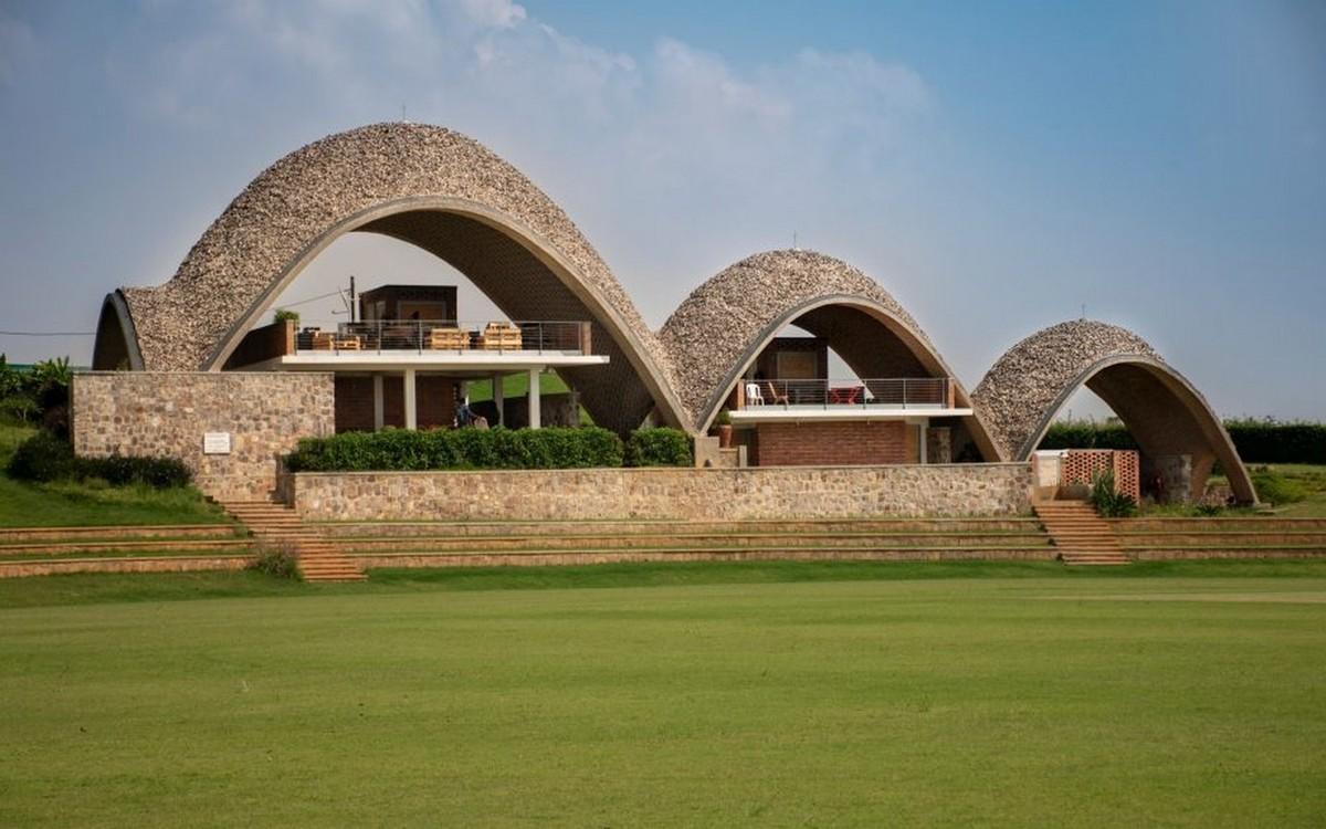 Rwanda Cricket Stadium, Ruanda, képet készítette: Light Earth Designs
