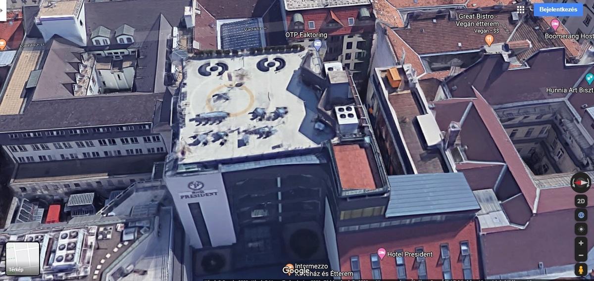 V., Hold utca, Forrás: Google Maps