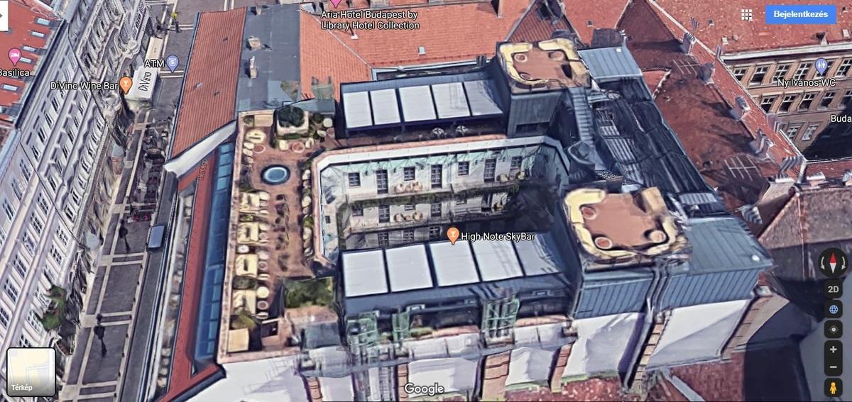 V., Hercegprímás utca, Forrás: Google Maps