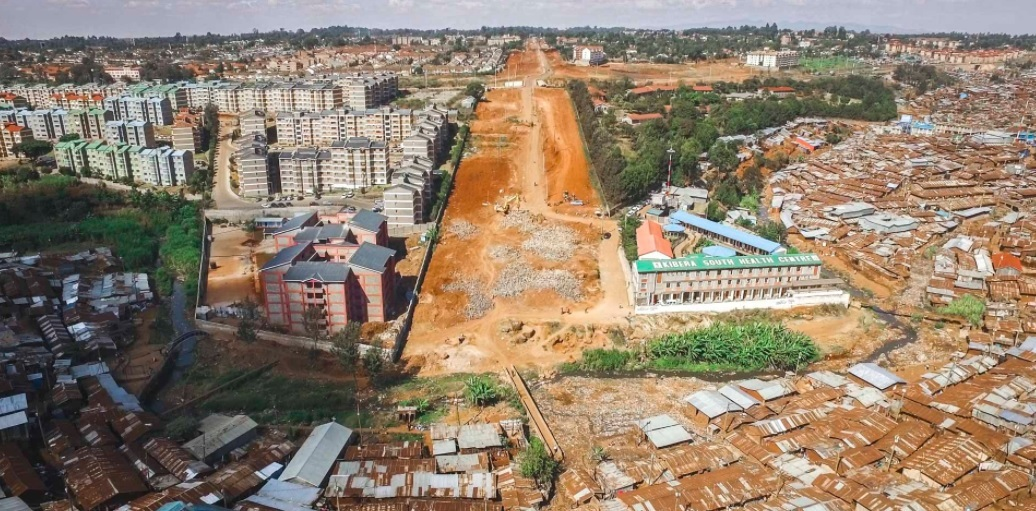 Kibera nyomornegyed, Nairobi, Kenya