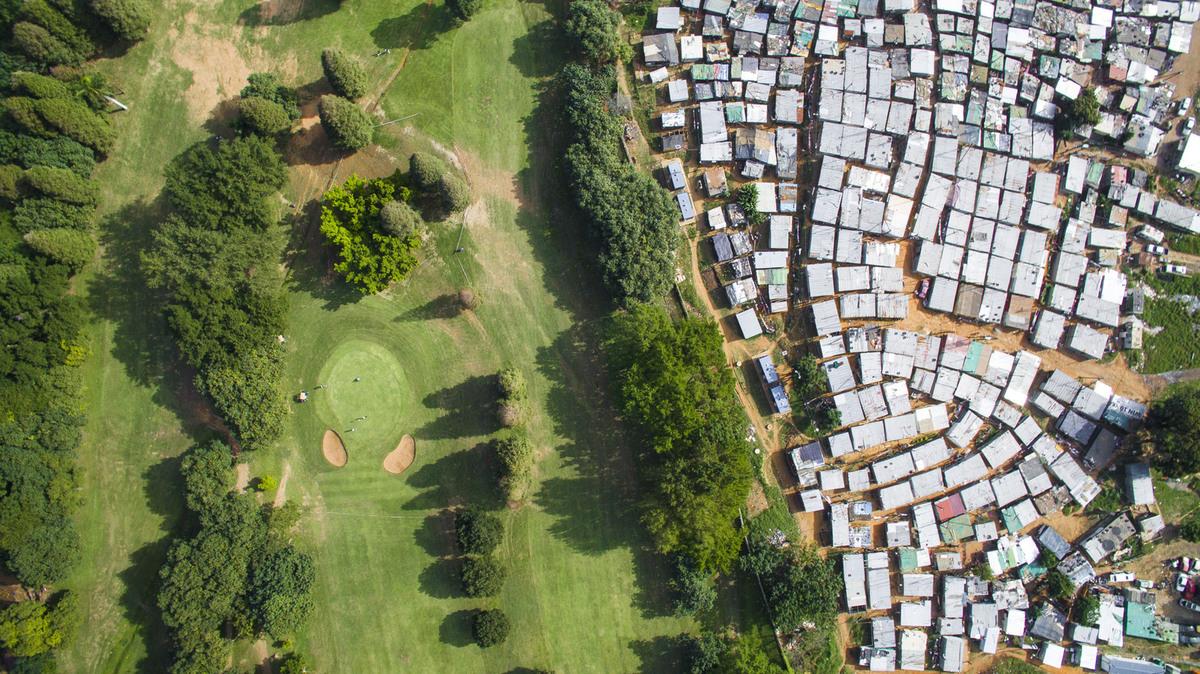 Papwa Sewgolum Golf Course, Durban, Dél-Afrikai Köztársaság