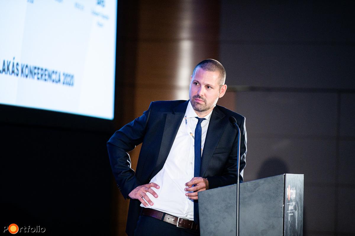 Ditróy Gergely, a Portfolio ingatlandivízió-vezetője