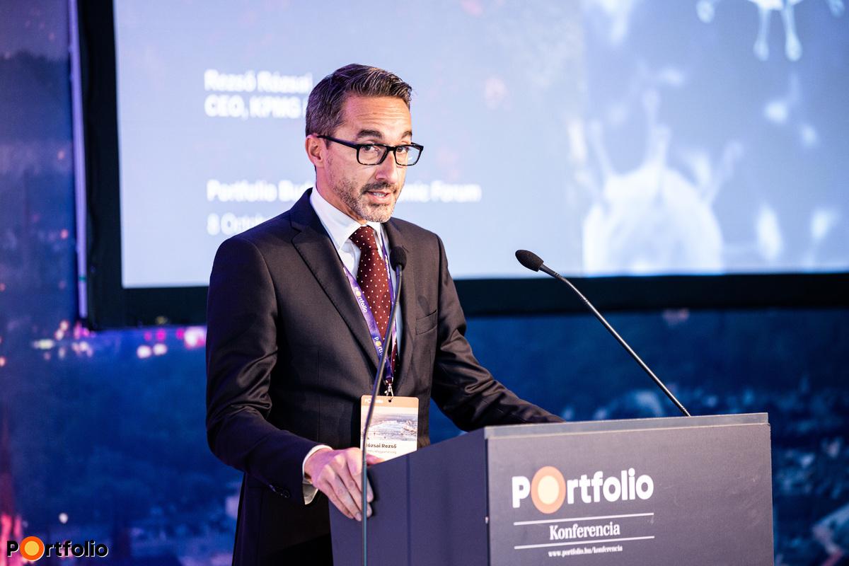 Rózsai Rezső (vezérigazgató, KPMG Magyarország): KPMG CEO Outlook 2020 felmérés