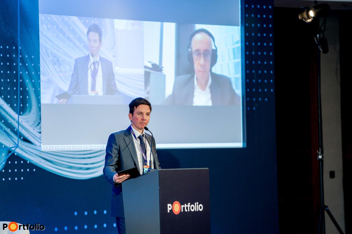 Hrežo Martin (vezérigazgató, Penta Hospitals International) online csatlakozott a rendezvényhez. Előadásának címe: Aktuális kihívások - Penta Hospitals