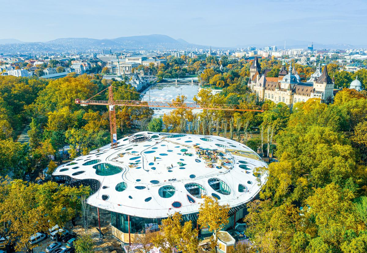 2021 végén megnyílik a Magyar Zene Háza