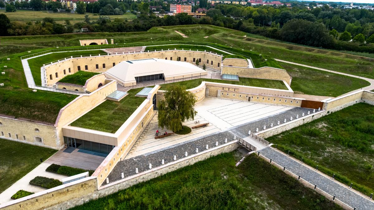 2019-ben készült el a komáromi Csillagerőd felújítása és bővítése