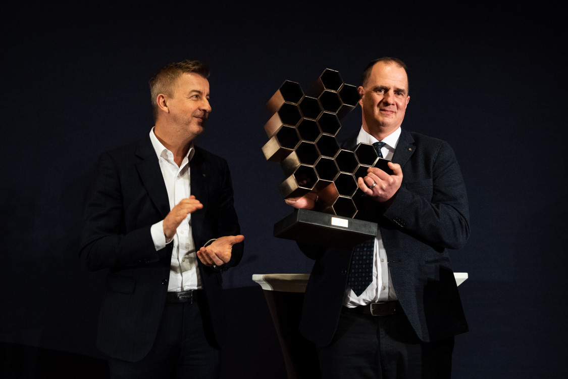 Scheer Sándor és Balás Ákos, díjátadó 2020.
