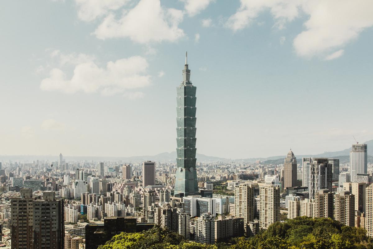 Taipei 101 - Tajvan