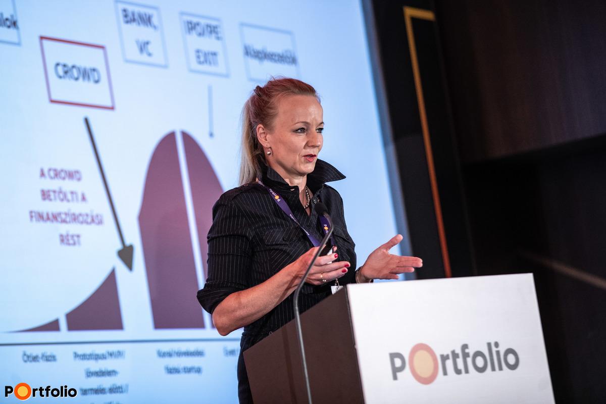 Szeles Nóra (üzletfejlesztési vezető, Tőkeportál Zrt.): Crowfunding jelene és jövője