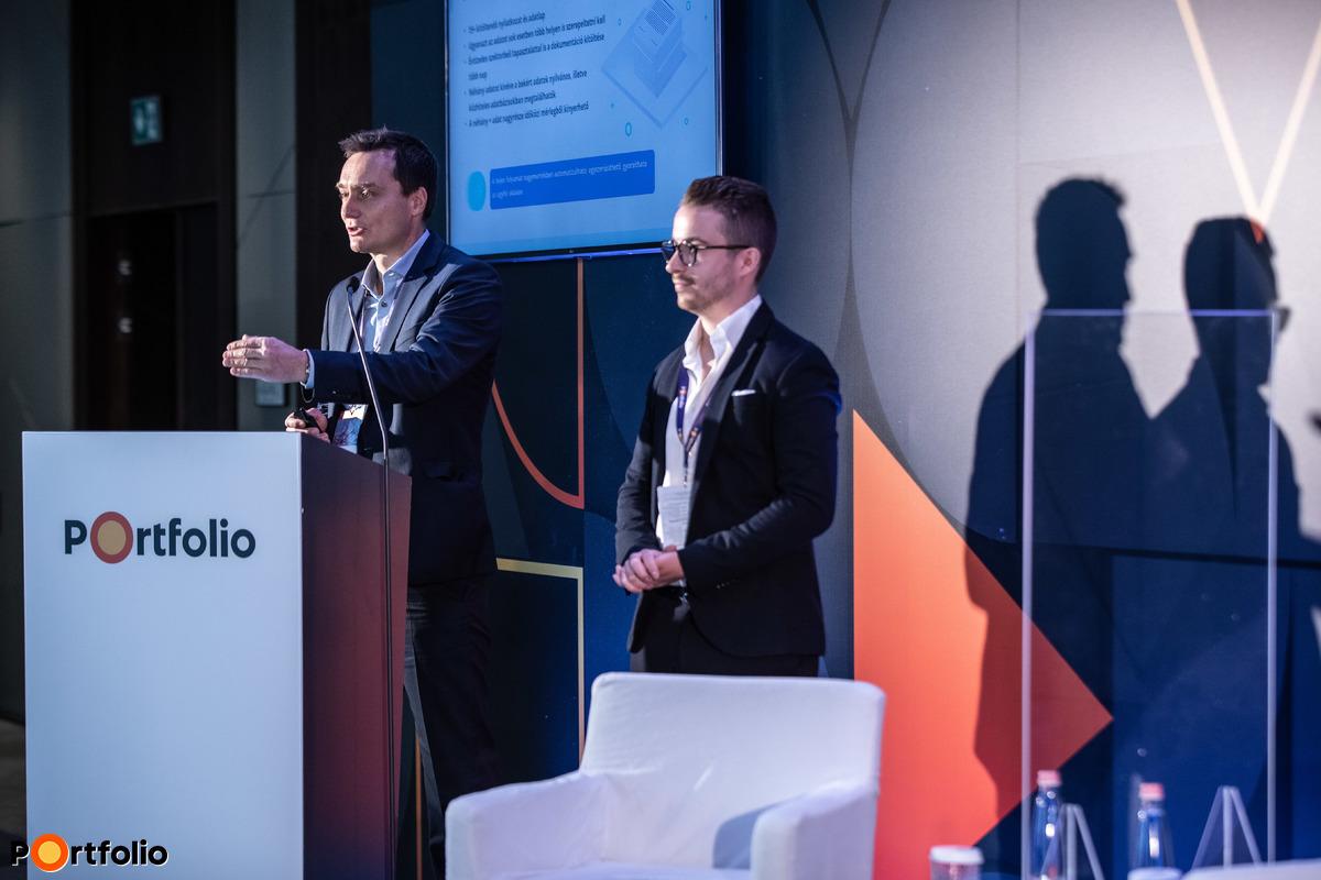 Muck Iván (CEO, ff. next) és Tóth Tamás (partner, Lippert): Papírmentes KKV hitelezés - Ügyfélközpontú digitalizáció a kisvállalati szegmensben