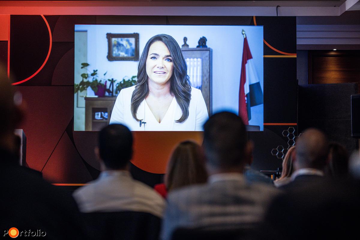 Novák Katalin (családokért felelős tárca nélküli miniszter) köszöntötte a vendégeket