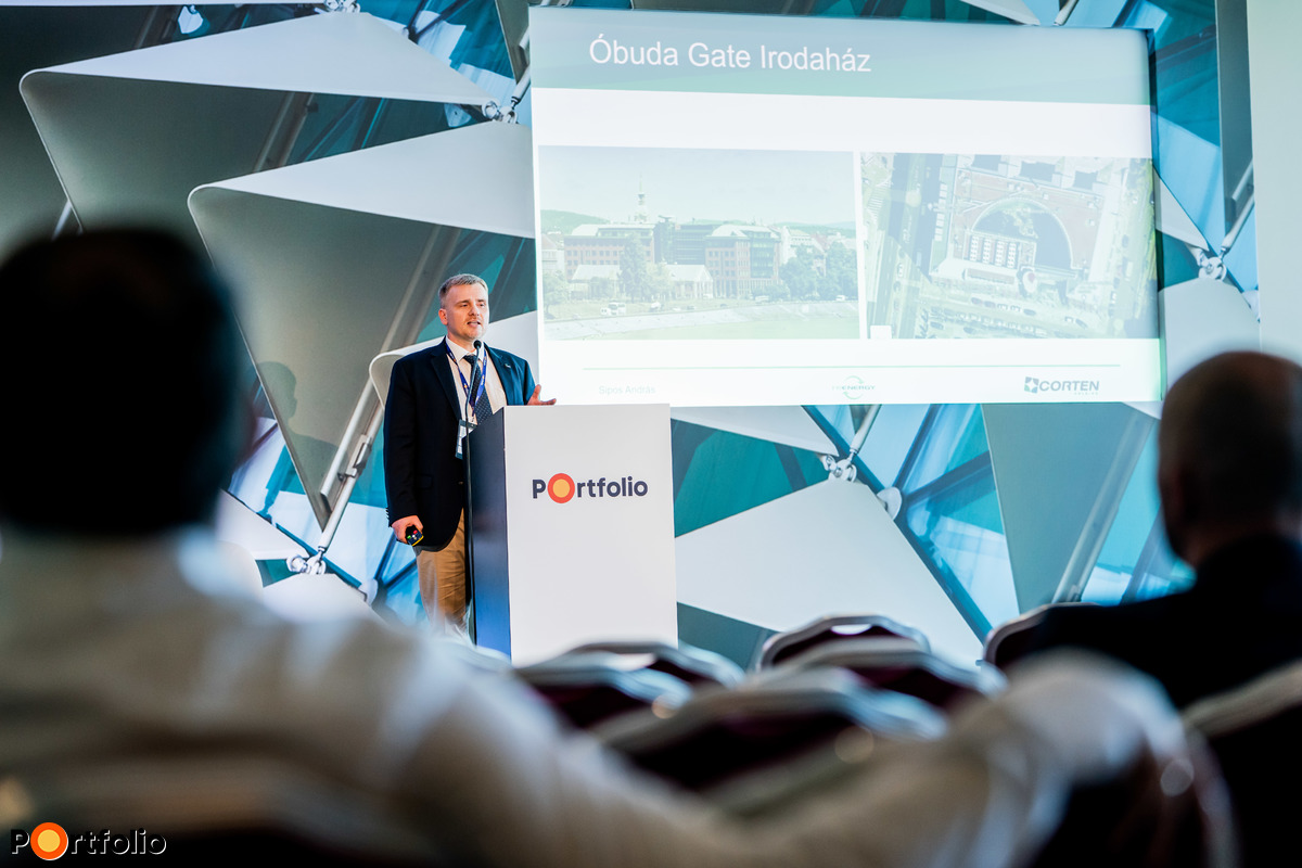 Sipos András (Re-Energy Kft., Értékesítési vezető): Hogyan spórolunk 30 millió Ft-ot és 400 t CO2-t évente az Óbuda Gate irodaépületnek?