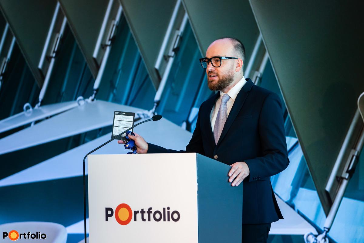 Orosz Márton, a Portfolio Csoport tartalomfejlesztési igazgató moderálta a ZÖLD szekciókat