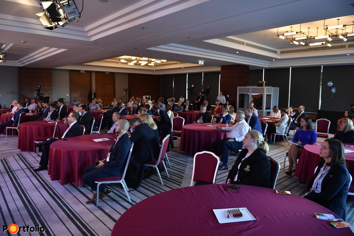 A  Private Health Forum 2021 helyszíni közönsége.