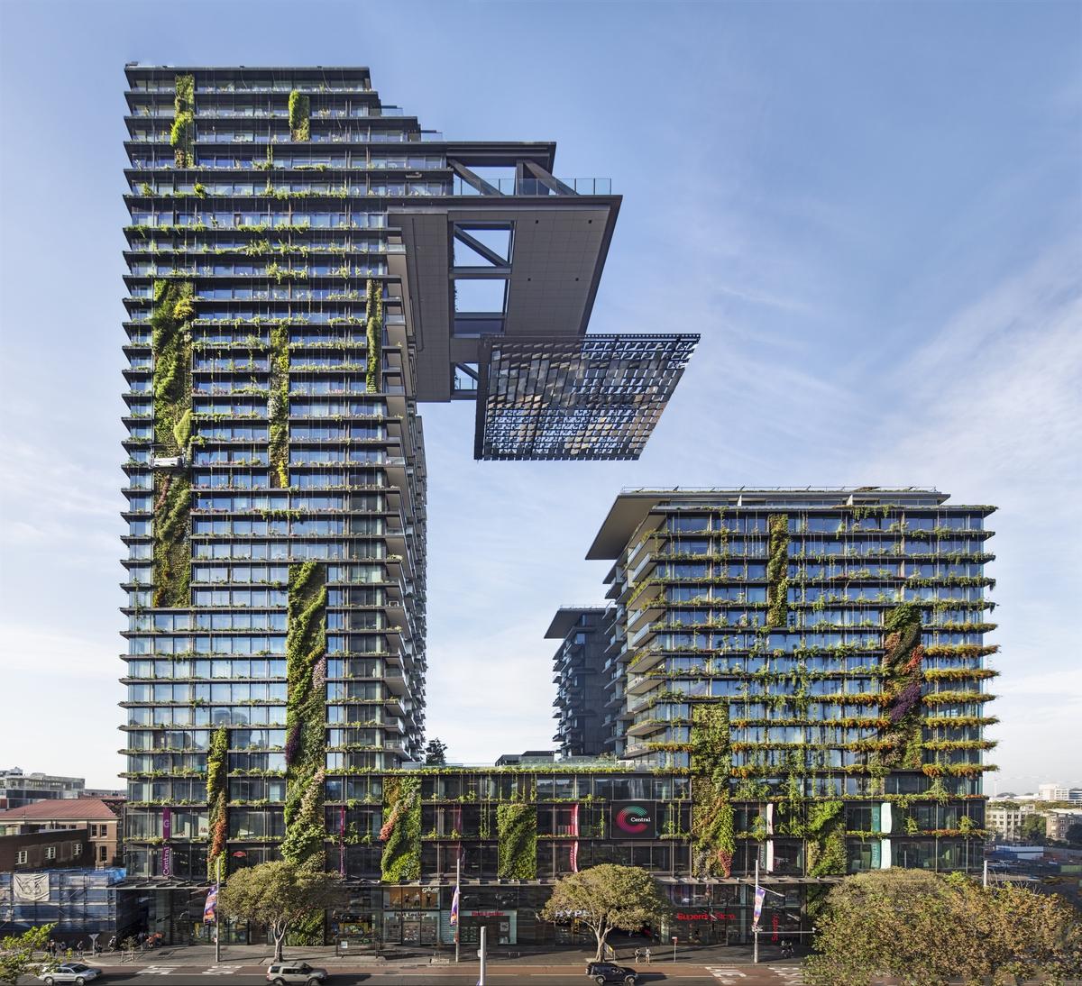 A legjobb innovatív zöld épület: One Central Park (Sydney, Ausztrália)