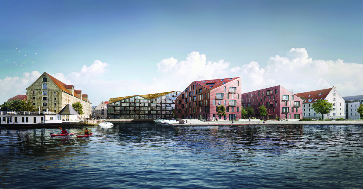 A legjobb lakóingatlan-fejlesztés: Kroyers Plads I (Koppenhága, Dánia)