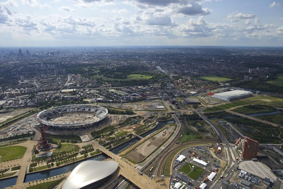 A zsűri díjazottja: Queen Elizabeth Olympic Park (London, Egyesült Királyság)