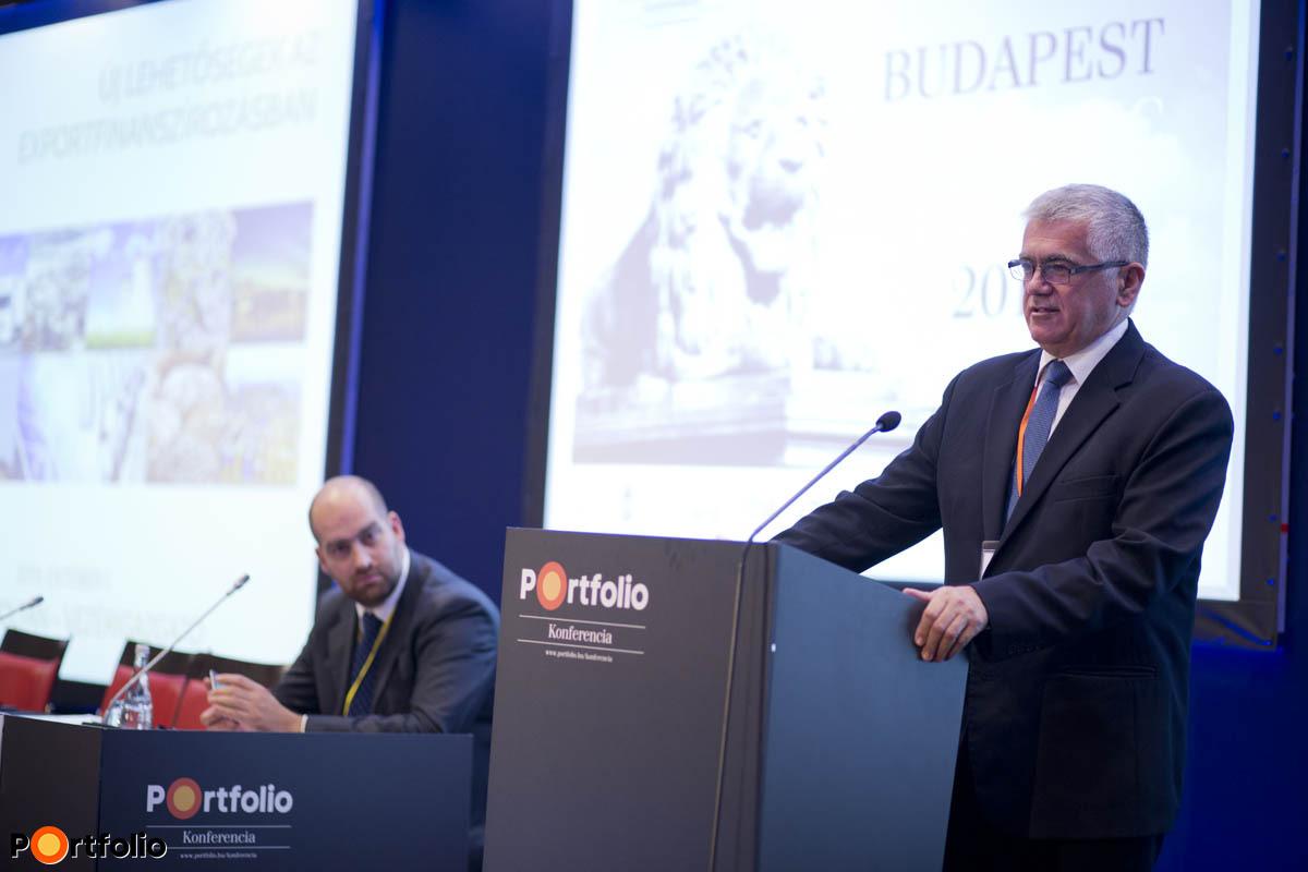Urbán Zoltán, az Eximbank vezérigazgatója