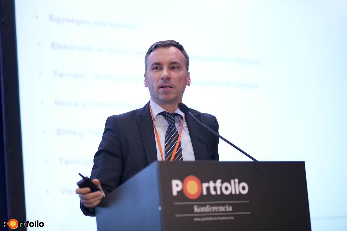 Trombitás Zoltán, az Erste Bank Hungary Zrt. EU Iroda vezetője