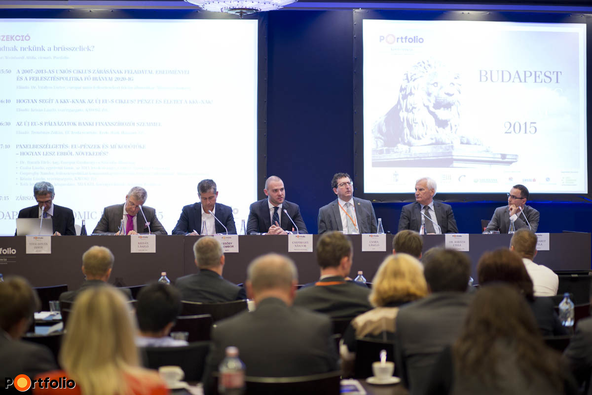 Panelbeszélgetés: EU-pénzek és működőtőke - Hogyan lesz ebből növekedés?