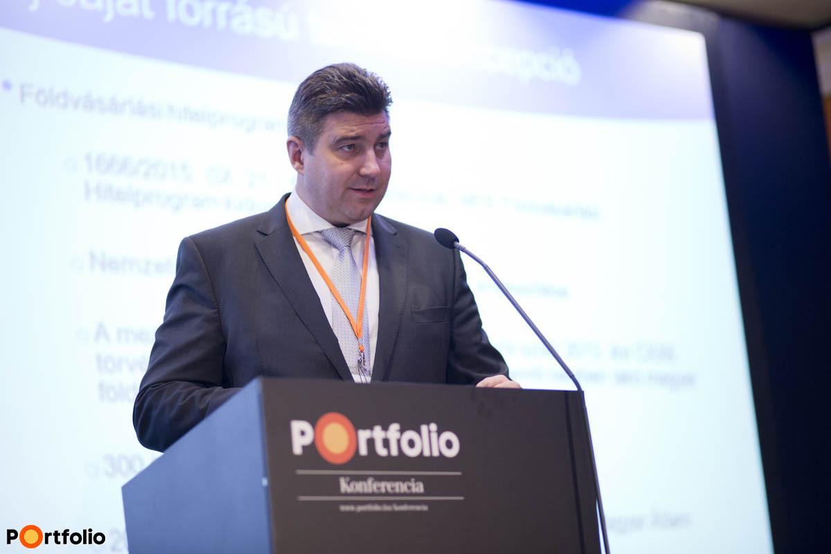 Bertalan Sándor, az MFB vezérigazgató-helyettese