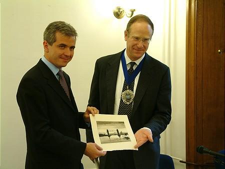 Szalay-Berzeviczy Attila és a Lord Mayor