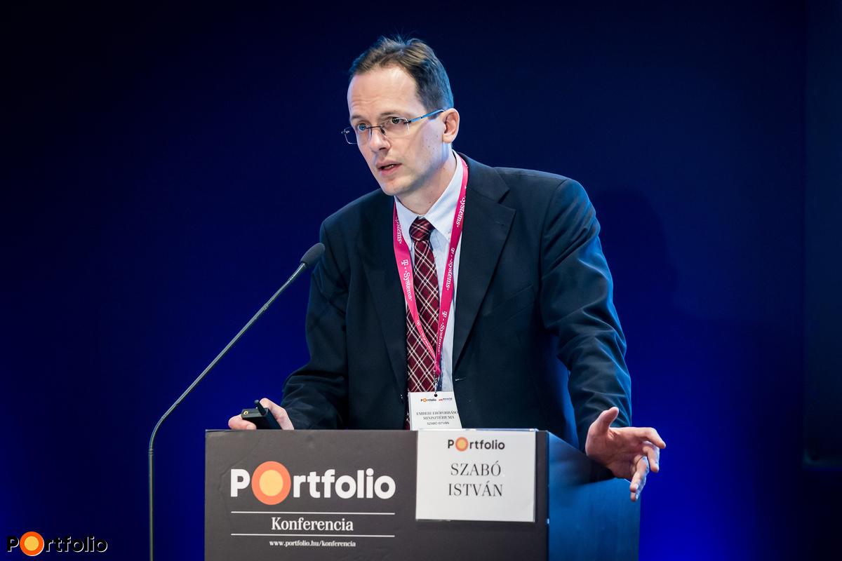 Szabó István, főosztályvezető, Felsőoktatás- és Kutatásstratégiai Főosztály, Emberi Erőforrások Minisztériuma