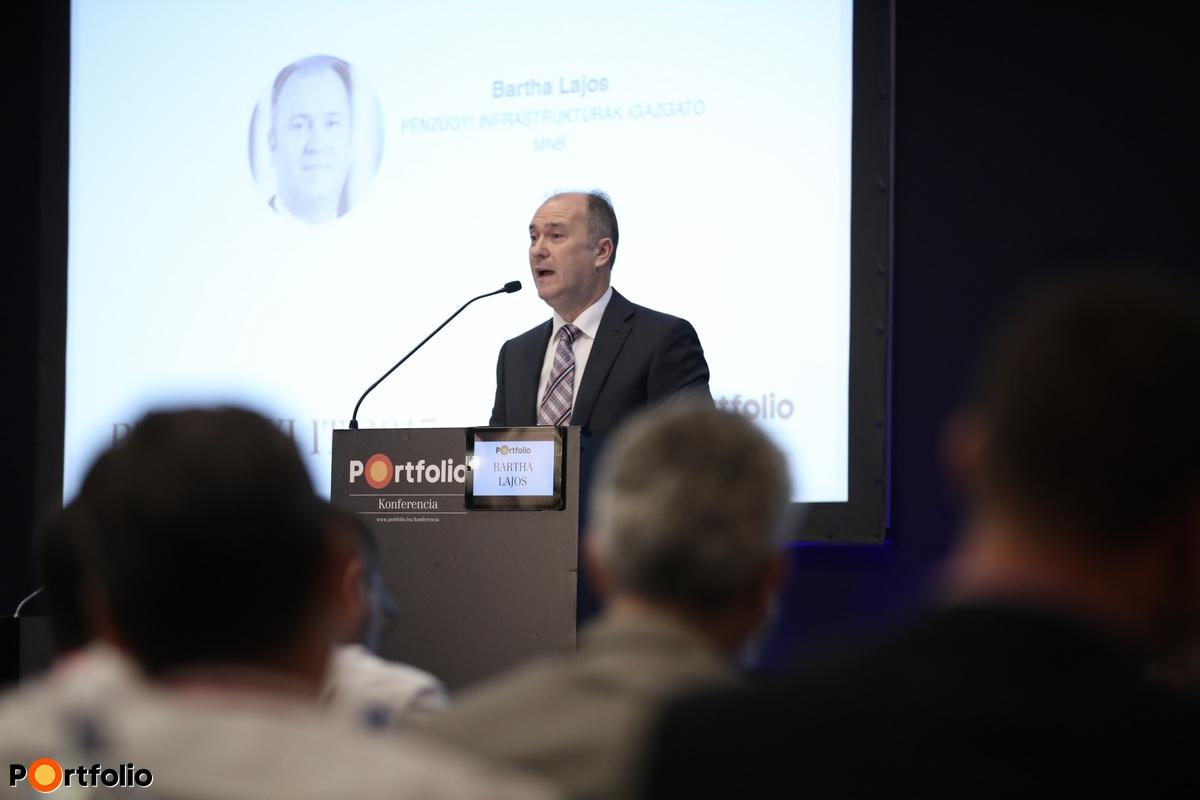 Bartha Lajos, pénzügyi infrastruktúrák igazgató, MNB (Fotó: Stiller Ákos)