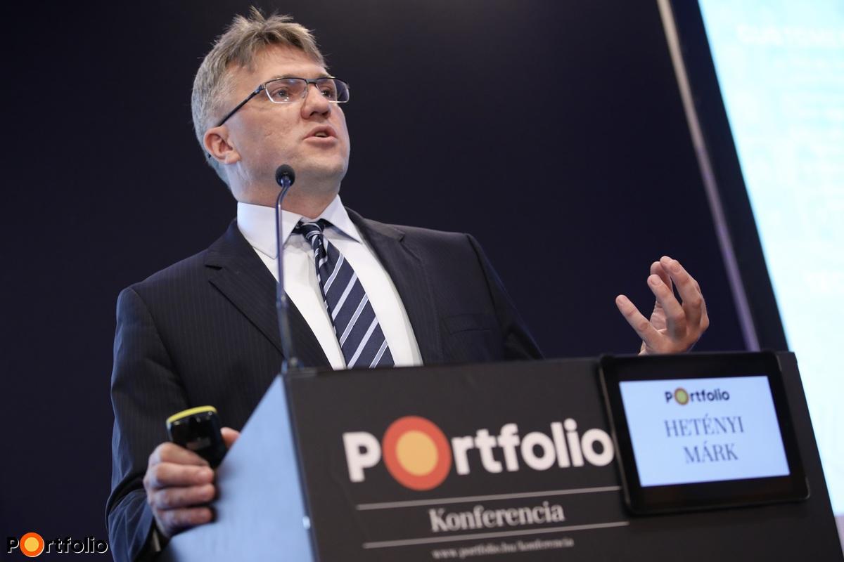 Hetényi Márk, vezérigazgató-helyettes, MKB Bank (Fotó: Stiller Ákos)