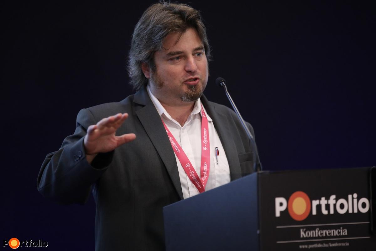 Szegő Dániel, független blockchain tanácsadó (Fotó: Stiller Ákos)