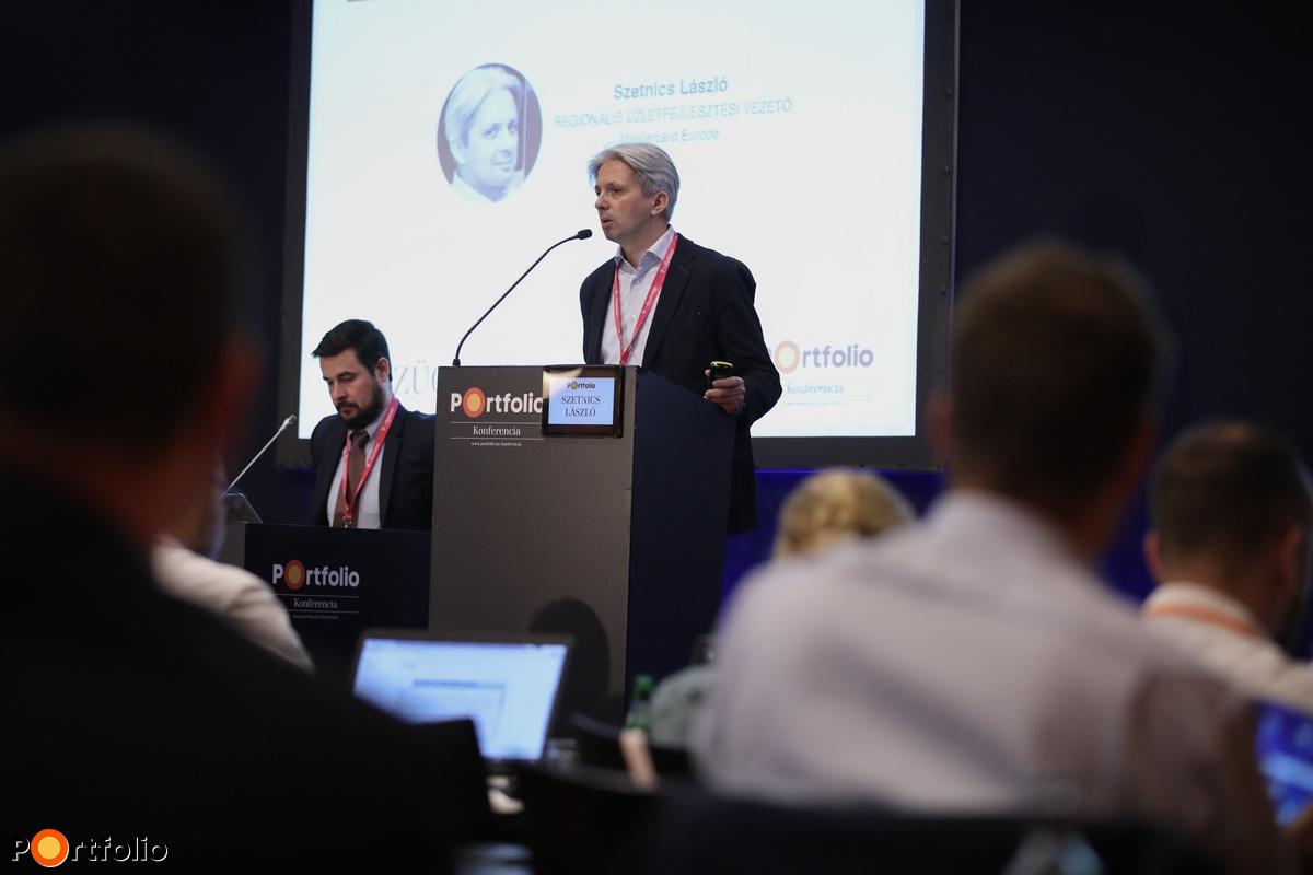 Szetnics László, mobilfizetésekért felelős regionális üzletfejlesztési vezető, Mastercard Europe (Fotó: Stiller Ákos)