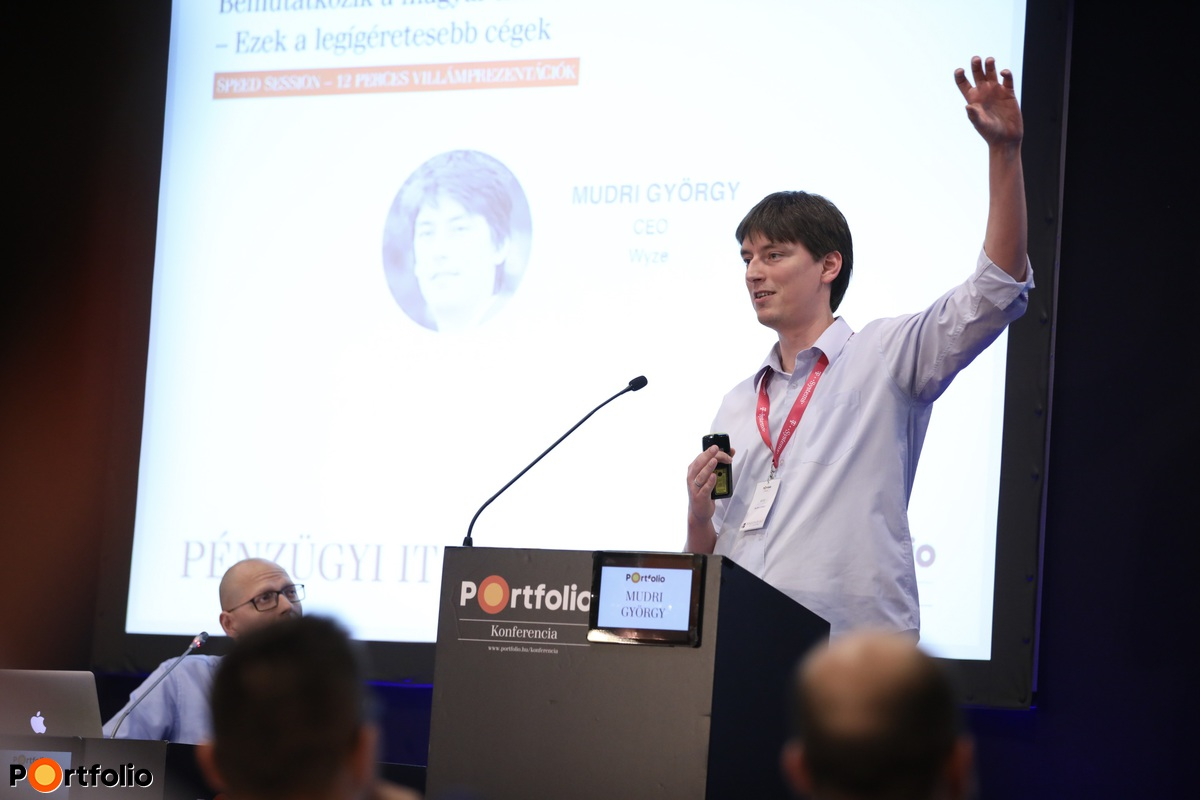 Mudri György, CEO, Wyze (Fotó: Stiller Ákos)