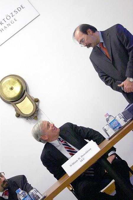 William H. Donaldson és Horváth Zsolt
