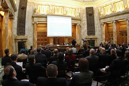Nagy volt az érdeklődés a Bank Austria Creditanstalt székházában