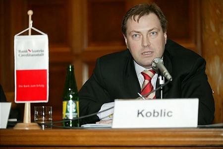 Petr Koblic, a Prágai Értéktőzsde elnök-vezérigazgatója