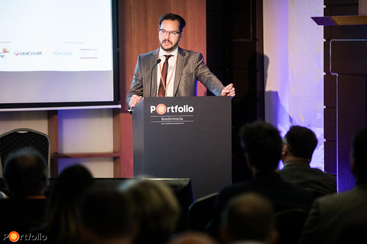 Dóczi Gergely, ügyvezető, Futurmed Vagyonkezelő Kft., a befektetői panelbeszélgetés moderátora