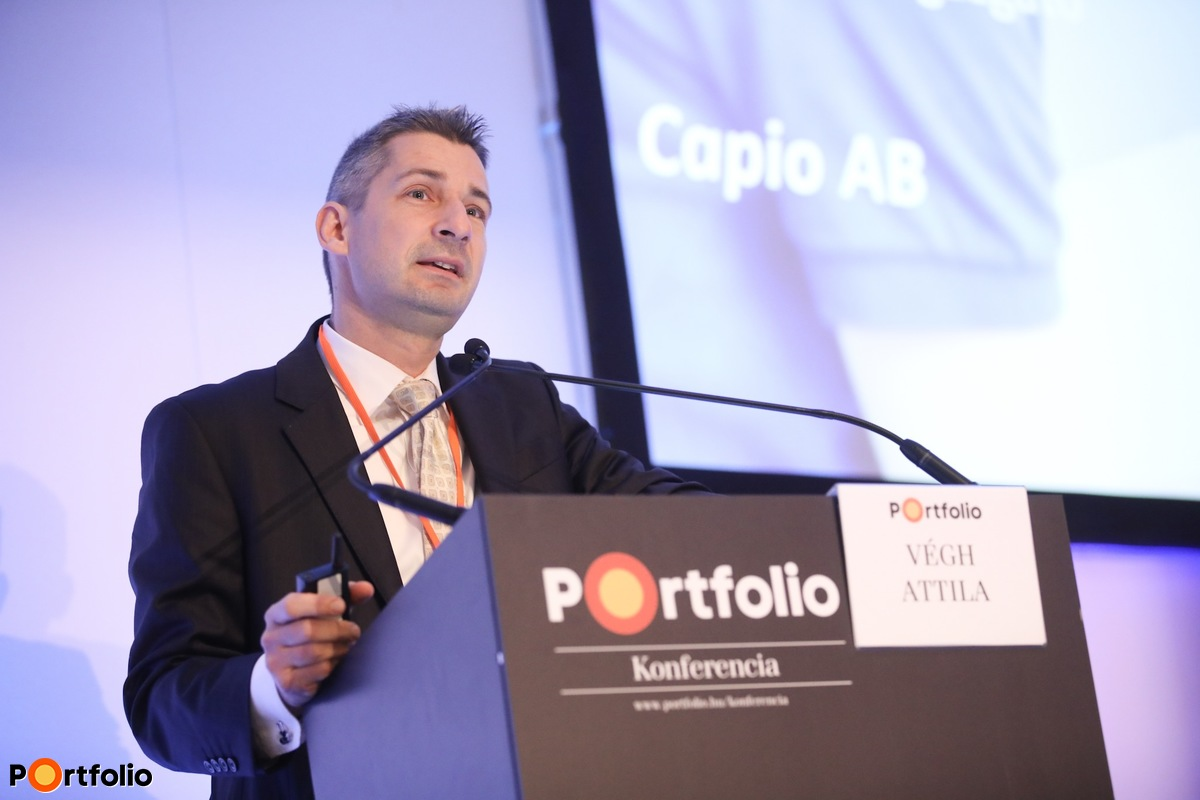 Végh Attila, elnök-vezérigazgató, Capio AB