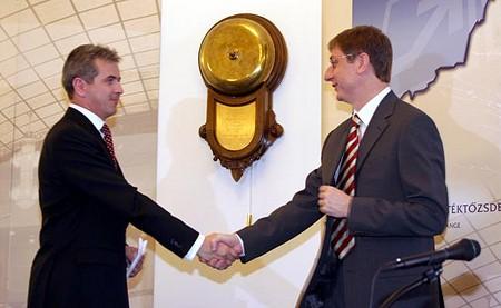 A friendly handshake