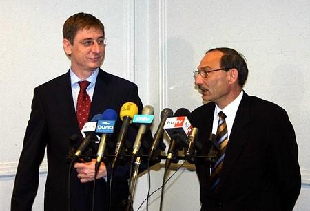 Gyurcsány Ferenc Erdei Tamással