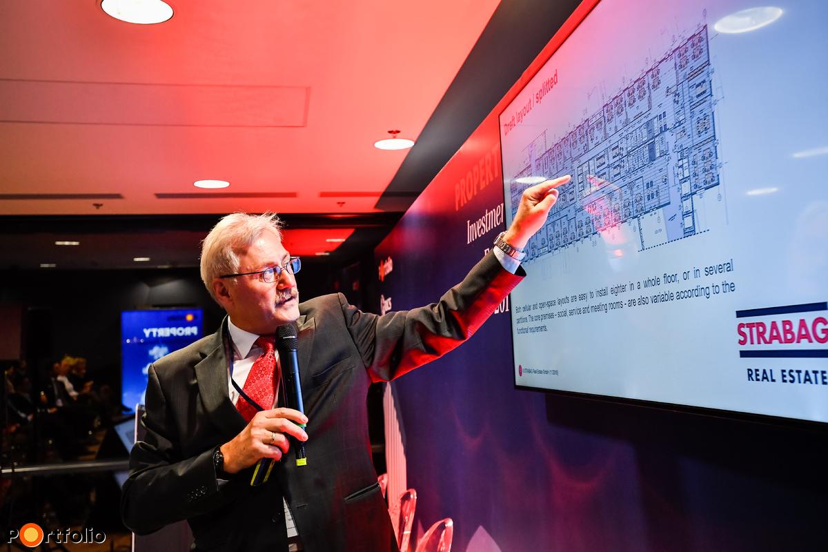 Rudolf Riedl MRICS (ügyvezető igazgató, Strabag Real Estate):Az