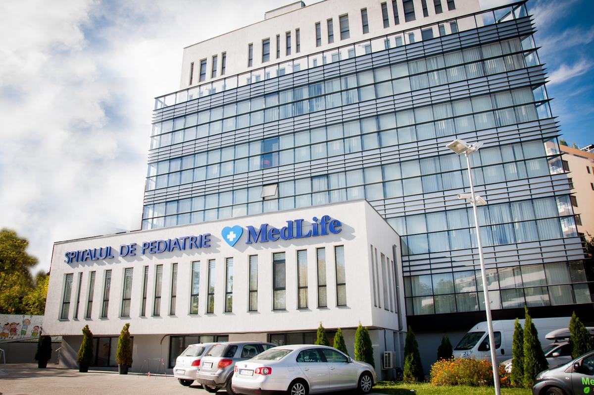 A MedLife gyermekgyógyászati klinikája Bukarestben
